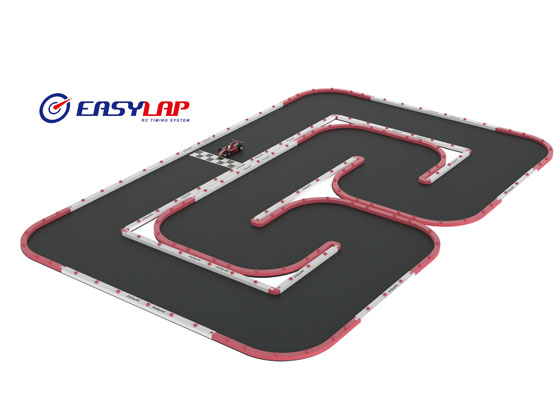Mini RC Track for Racing(HOME VERSION)CCW-AB Set